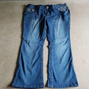 Amethyst jeans plus size 20 x 31